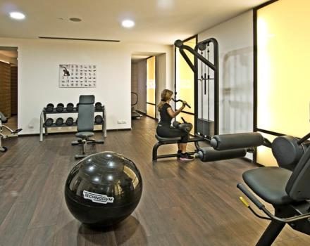 Wellness and Fitness at the hotel in the center of Turin