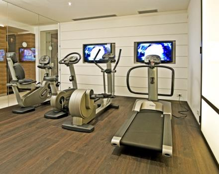 All cardio equipment is compatible with your cardio frequency meters