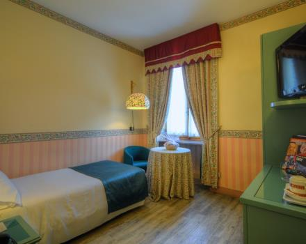 Best Western Hotel Genio in Turin-  Single Room
