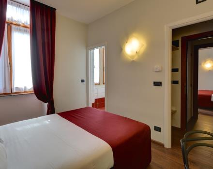 Best Western Hotel Genio in Turin - Family room, 2 connecting rooms