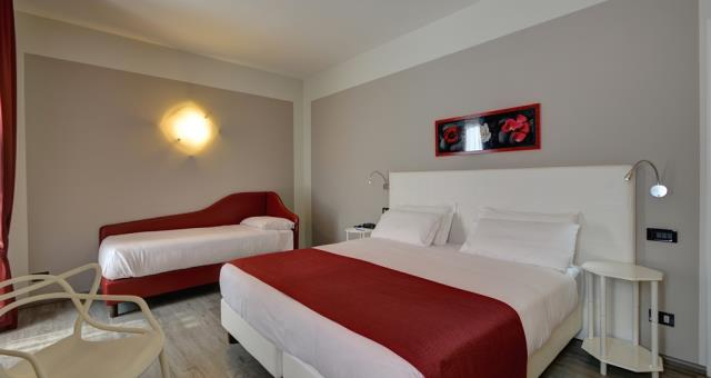 Best Western Hotel Genio in  Turin - Triple Room