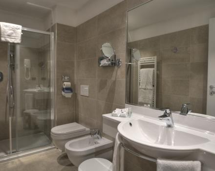 Best Western Hotel Genio in Turin - Bathroom