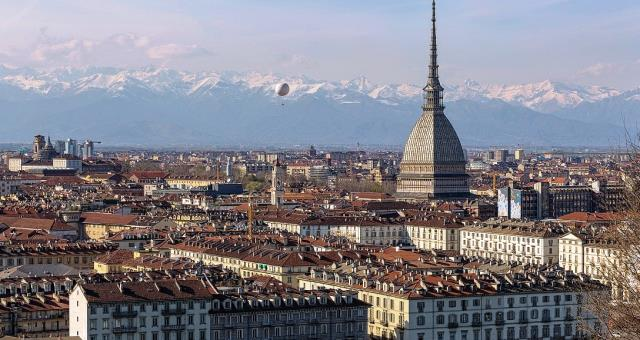 Turin Eye over the city